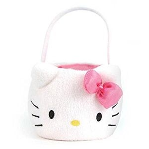 🆕 HELLO KITTY Plush Easter Basket